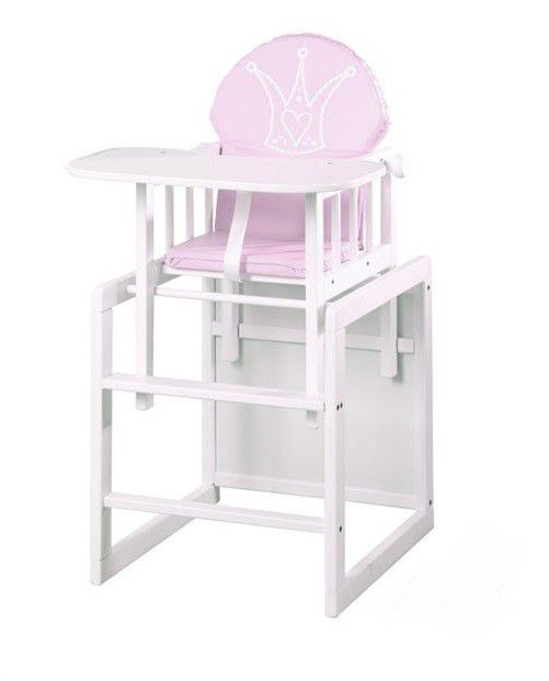 Chaise Haute Table Princesse Klups