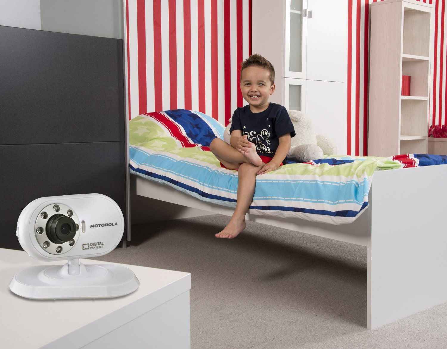 motorola babyphone vid o avec cran 2 4 motorola www. Black Bedroom Furniture Sets. Home Design Ideas