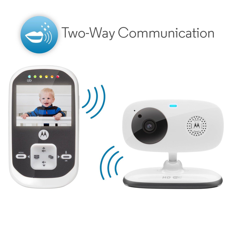 Motorola babyphone vid o connect wi fi avec cran 2 4 for Photo ecran motorola