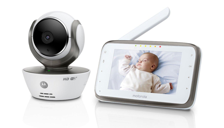 Motorola babyphone vid o connect wi fi avec cran 4 3 for Photo ecran motorola