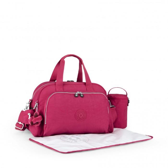 sac langer camama pink berry kipling kipling www. Black Bedroom Furniture Sets. Home Design Ideas