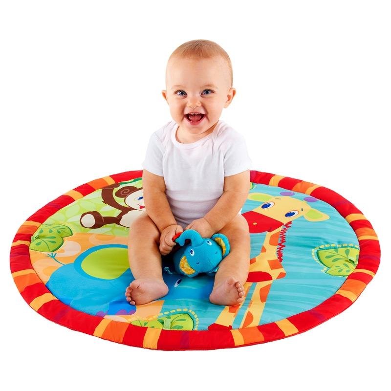 tapis d 39 veil jammin 39 jungle activity gym bright starts bright starts. Black Bedroom Furniture Sets. Home Design Ideas
