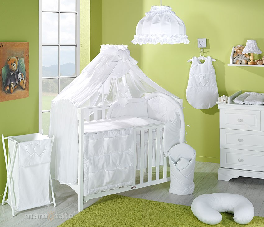 voile de lit blanc mamo tato mamo tato www. Black Bedroom Furniture Sets. Home Design Ideas