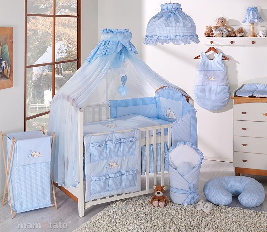 voile de lit bleu mamo tato mamo tato house babyhouse. Black Bedroom Furniture Sets. Home Design Ideas